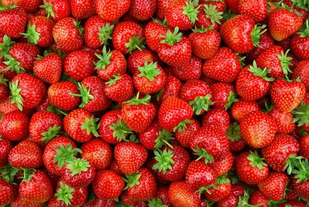 Foto de Strawberries as background. - Imagen libre de derechos