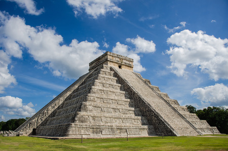 Photo for Chichen itza Castle - Royalty Free Image