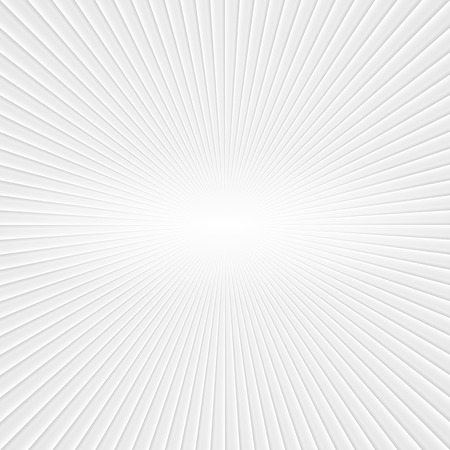 Photo pour 3D White Rays. Abstract Vector Background - image libre de droit