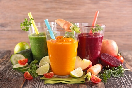 Photo for health vegetable juices - Royalty Free Image