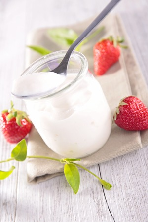 Photo for yogurt and berry - Royalty Free Image