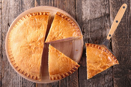 Photo for meat pie - Royalty Free Image