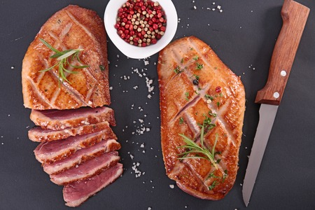 Photo for roasted duck breast - Royalty Free Image