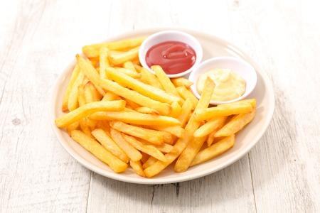 Photo pour french fries - image libre de droit