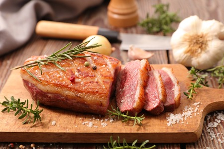 Photo for grilled duck breast - Royalty Free Image