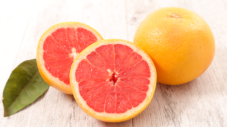 Photo pour pink grapefruit - image libre de droit