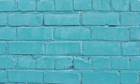 Photo pour Texture of old blue brick wall surface with cement seams - image libre de droit