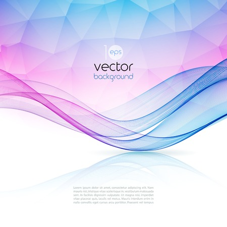 Foto per Abstract colorful template vector background. Brochure design - Immagine Royalty Free