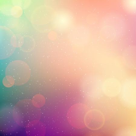 Ilustración de Vector Soft colored abstract background for design - Imagen libre de derechos