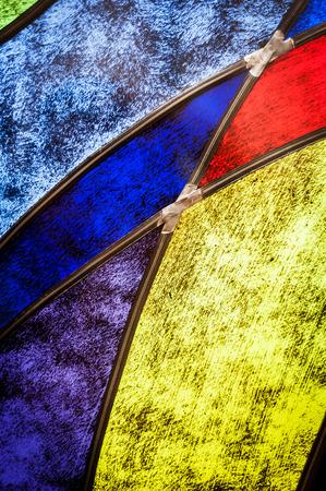 Foto de Detail of stained glass - Imagen libre de derechos