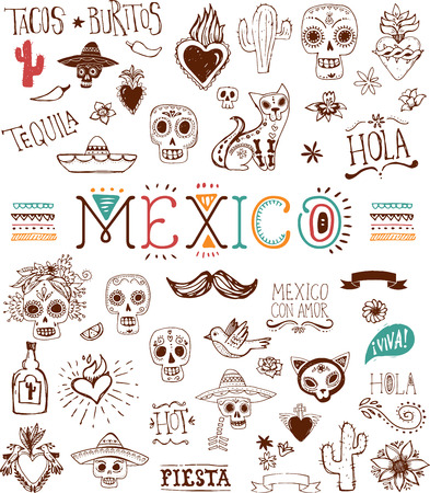 Illustration for Mexican - Royalty Free Image