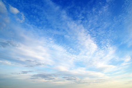 Photo for clouds in the blue sky - Royalty Free Image