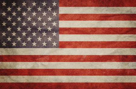 Photo for Grunge USA Flag - Royalty Free Image