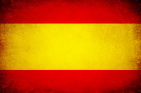 Photo pour Flag of Spain EU. - image libre de droit