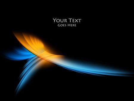 Illustration pour Bright vector background. Wavy lines, elements for design. Vector elements for presentations, brochures, annual reports. - image libre de droit