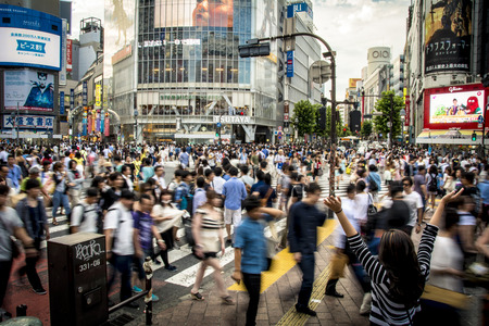 Photo for Shibuya Crossing Tokyo - Royalty Free Image