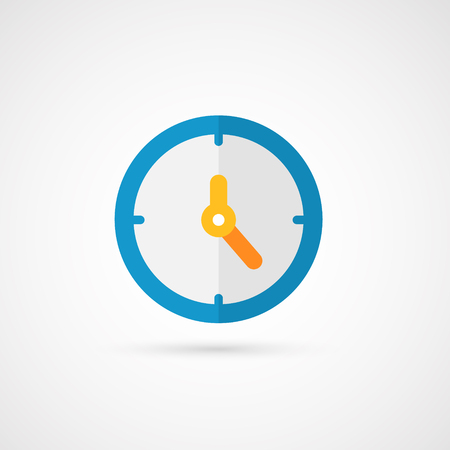 Illustration pour Vector clock icon. - image libre de droit