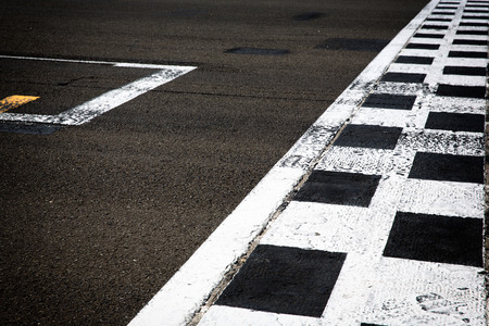 Photo for start line - Royalty Free Image