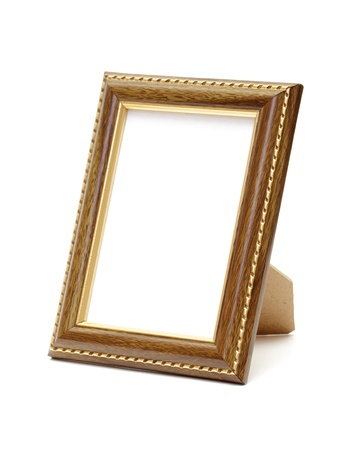 Photo for Empty photo frame isolated on white - Royalty Free Image