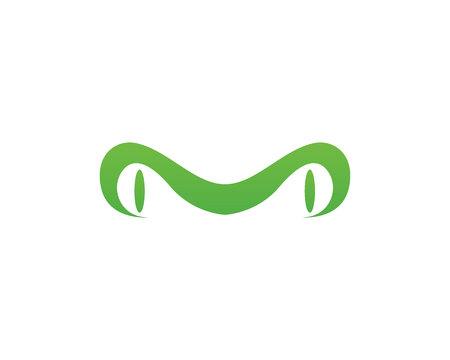 Ilustración de green frog symbols icon and template - Imagen libre de derechos