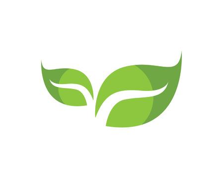 Ilustración de Leaf green leaves icon - Imagen libre de derechos