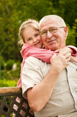 Photo for Love - grandparent with grandchild portrait - Royalty Free Image