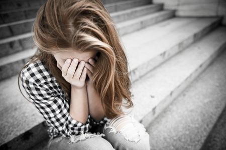 Foto de Teenage depression - Imagen libre de derechos