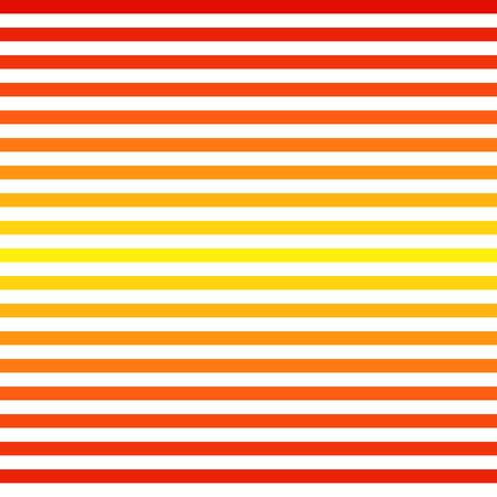 Abstract Seamless red yellow striped background Vector illustration