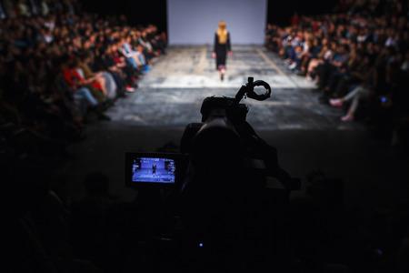 Foto für fashion show - Lizenzfreies Bild