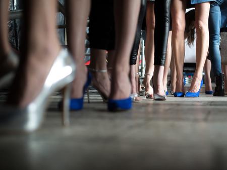 Foto de Fashion Show Backstage - Imagen libre de derechos