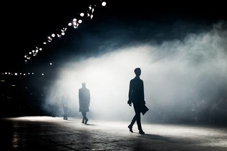 Photo pour Fashion Show, menswear - image libre de droit