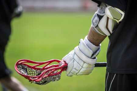 Photo pour Lacrosse - american teamsports themed photo - image libre de droit