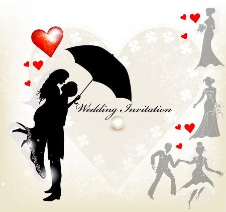 Illustration for Wedding  - Royalty Free Image