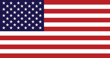 Illustration pour flag of united states - image libre de droit