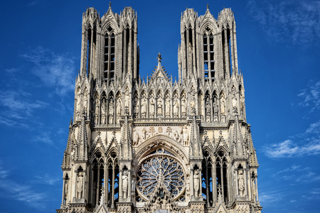 Photo for Cathedral of Notre-Dame, Reims, France - Royalty Free Image