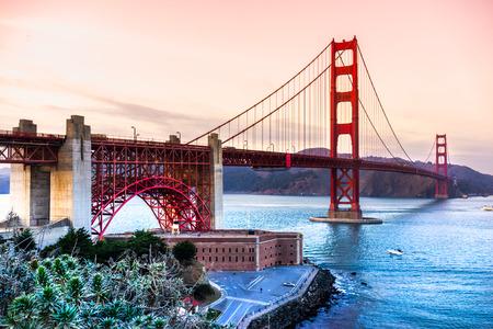 Photo for Golden Gate Bridge, San Francisco, California, USA. - Royalty Free Image