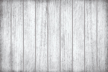 Illustration pour White, grey wooden texture, old painted planks - image libre de droit