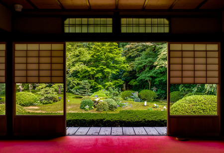 Photo for Japanese Temple Unryu in kyoto - Royalty Free Image