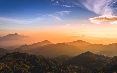 Photo for Sunrise over the mountain - Royalty Free Image