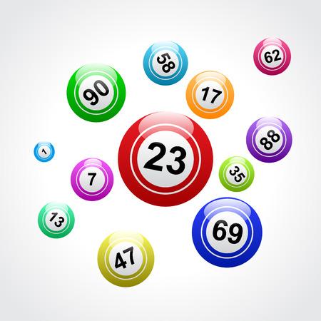 Ilustración de Vector bingo background - Imagen libre de derechos