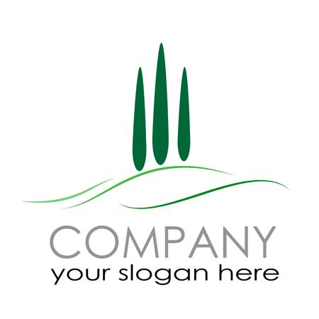 Illustration pour Vector sign Farm. Countryside tourism - image libre de droit