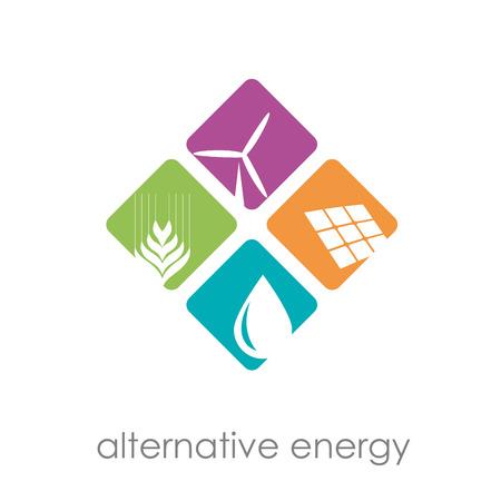 Ilustración de Vector sign alternative energy - Imagen libre de derechos