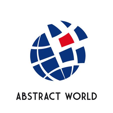 Foto de Vector concept dynamic world - Imagen libre de derechos