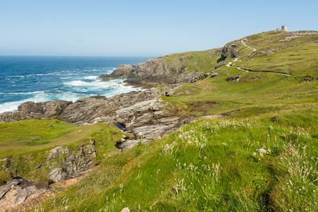 Foto de Landascapes of Ireland. Malin Head in Donegal - Imagen libre de derechos