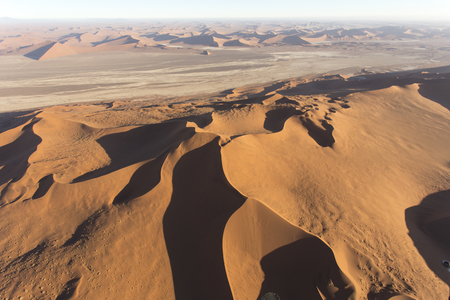 Photo for helicopter view of sossusvlei area in Namibia - Royalty Free Image