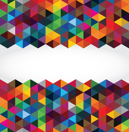 Ilustración de Abstract modern geometric background - Imagen libre de derechos
