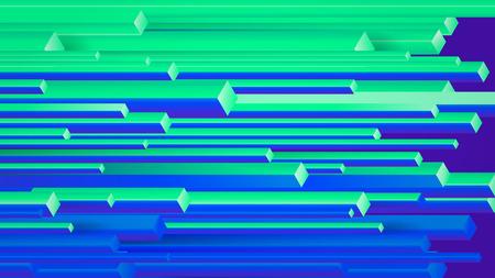 Illustration pour Vector abstract background with geometric elements, rectangles - image libre de droit