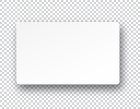 Illustration pour Vector illustration of white paper sheet with shadow. Eps10. - image libre de droit