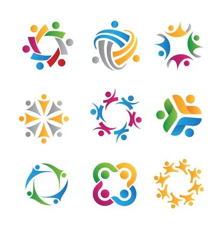 Ilustración de social icons - Imagen libre de derechos