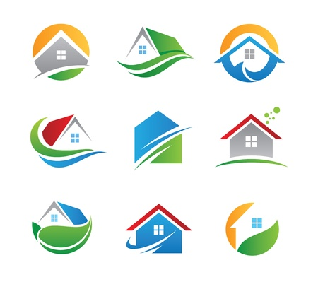 Photo for Eco house icon  - Royalty Free Image
